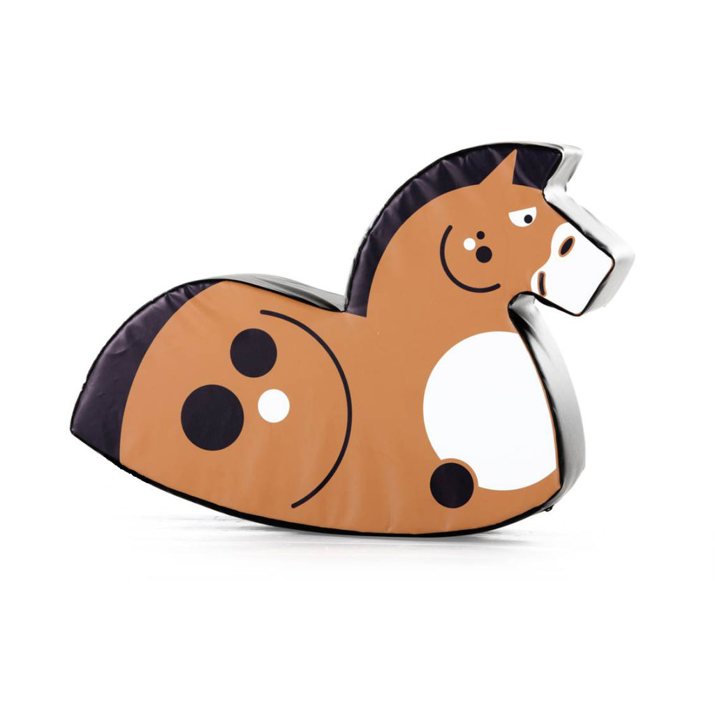 soft play horse rocker