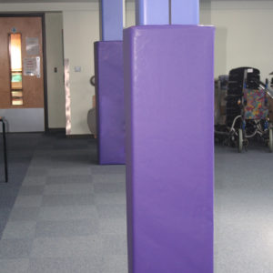 custom design indoor pads