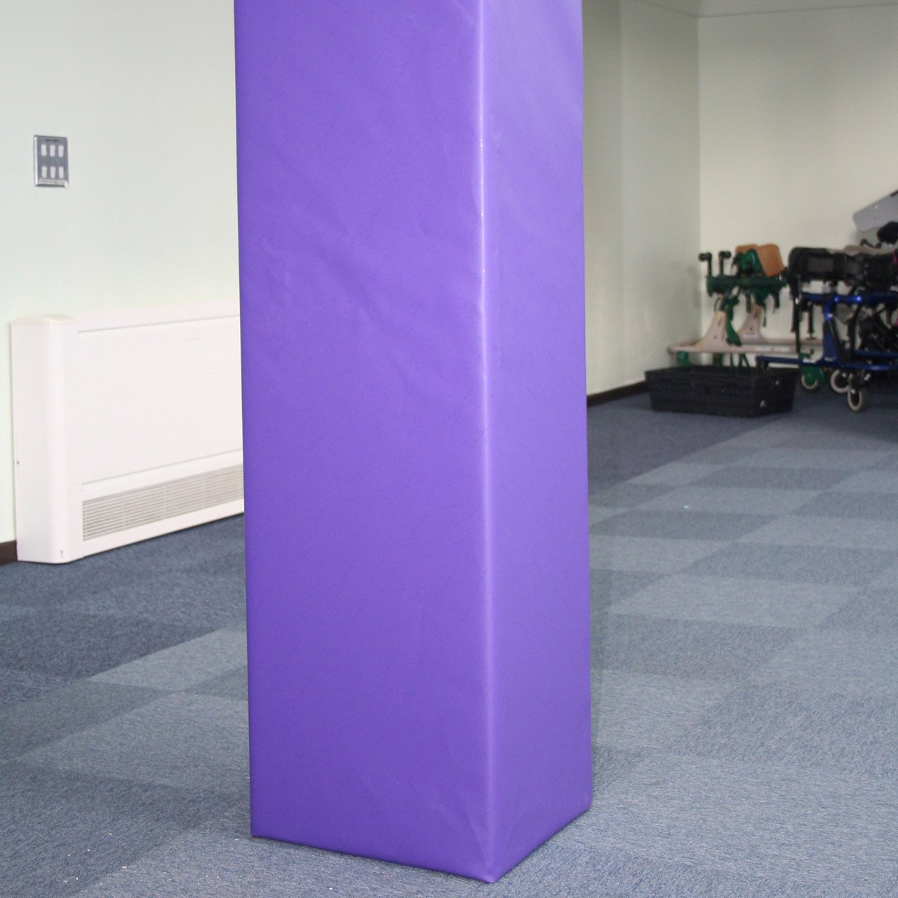 custom size protective safety padding for pillars and posts