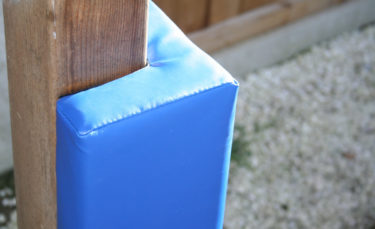 propads blue wall pad corner post protection