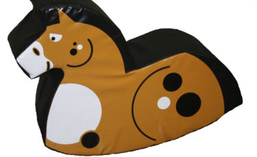 soft play horse rocker
