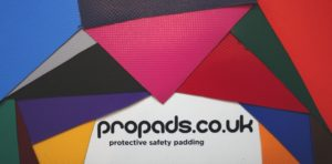 Propads post protector colours and logo